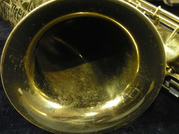 King Lacquer-Sterling Neck Zephyr Tenor - 209917 - Photo # 13