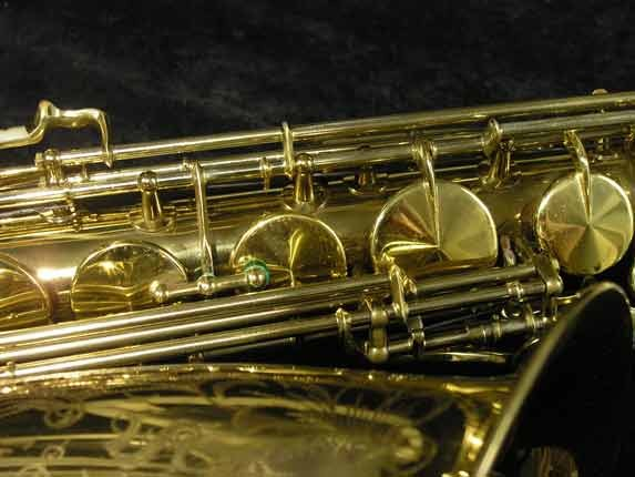 King Lacquer-Sterling Neck Super 20 Tenor - 313306 - Photo # 13