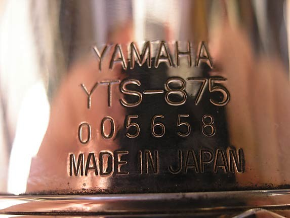 Yamaha Silver Plate Custom YTS-875 - 005658 - Photo # 15