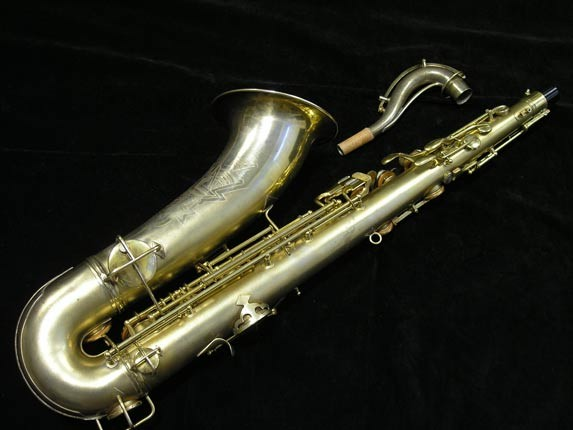 Conn Gold Plate Art Deco Chu Berry Tenor - 239071 - Photo # 4