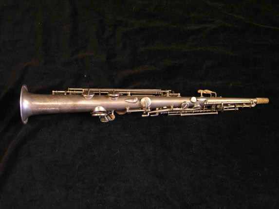 "Conn ""New Wonder"" Silver Plate C Soprano - 84475 - Photo # 2"