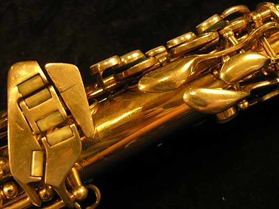 Conn Gold Plate Transitional 6M Alto - 250404 - Photo # 8