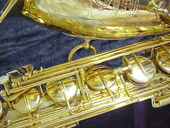 Selmer Gold Plate Super Balanced Action Tenor - 42200 - Photo # 12