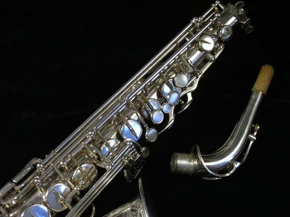 Selmer Silver Plate Mark VI Alto - 76835 - Photo # 3