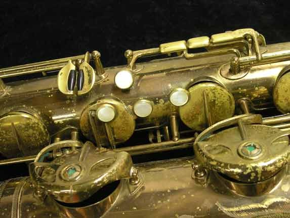 "Selmer Lacquer Mark VI ""Low A"" Baritone - 93188 - Photo # 16"
