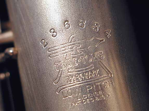 Buescher Silver Plate True Tone C Soprano - 236834 - Photo # 14