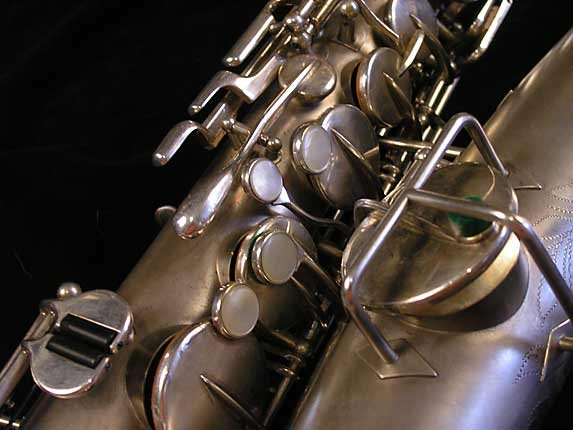 Buescher Matte Silver Plate True Tone Alto - 201428 - Photo # 12
