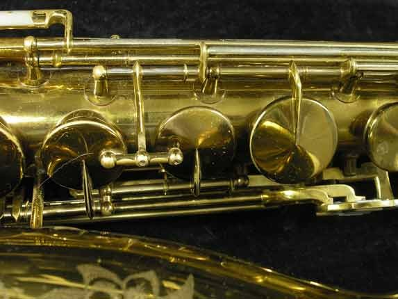 King Lacquer-Sterling Neck Zephyr Tenor - 209917 - Photo # 14