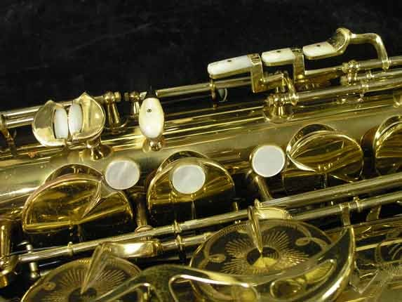 King Lacquer-Sterling Neck Super 20 Tenor - 313306 - Photo # 14