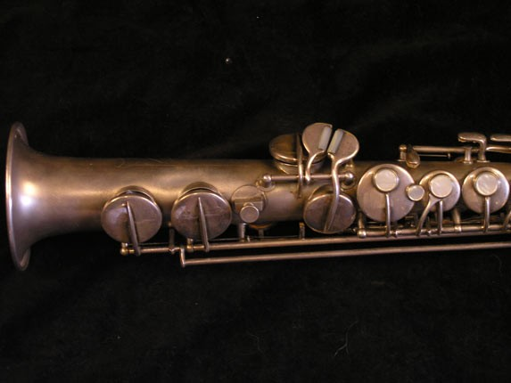 "Conn ""New Wonder"" Silver Plate C Soprano - 84475 - Photo # 3"