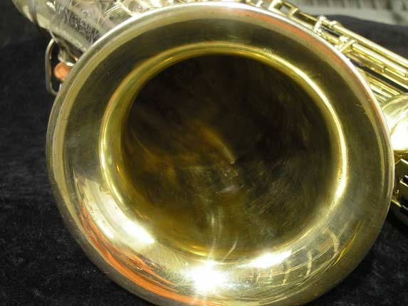 "Conn ""Portrait"" Gold Plate ""Nude Woman"" Tenor - 119399 - Photo # 10"