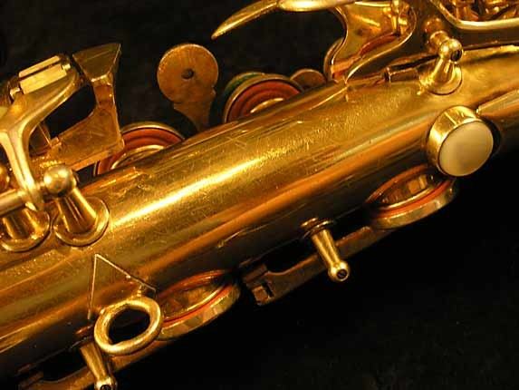Conn Gold Plate Transitional 6M Alto - 250404 - Photo # 9