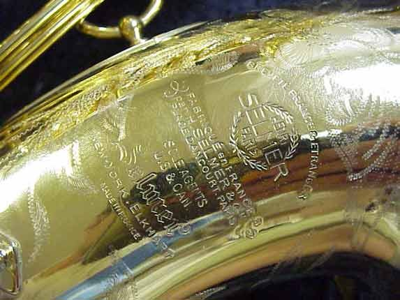 Selmer Gold Plate Super Balanced Action Tenor - 42200 - Photo # 13