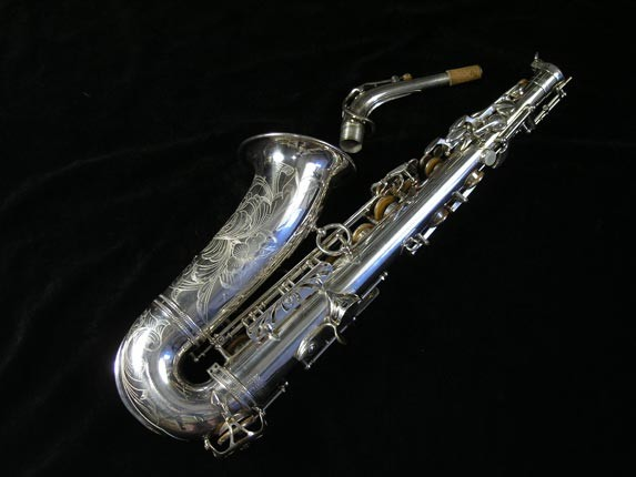 Selmer Silver Plate Mark VI Alto - 76835 - Photo # 4