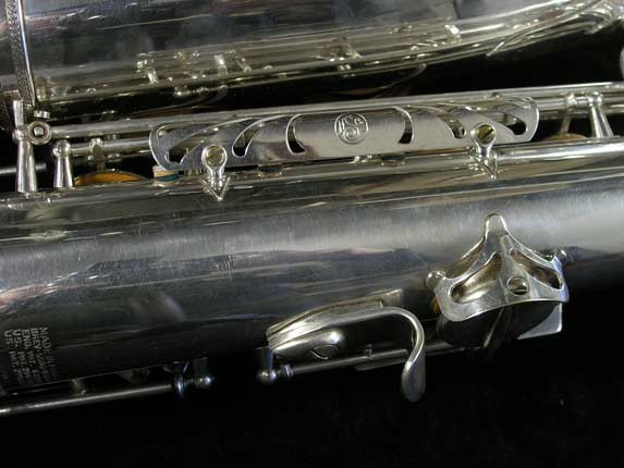 Selmer Silver Plate Mark VI Tenor - 82047 - Photo # 19
