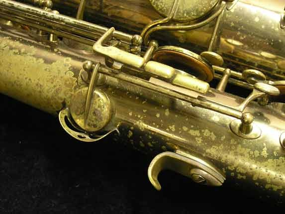 "Selmer Lacquer Mark VI ""Low A"" Baritone - 93188 - Photo # 17"