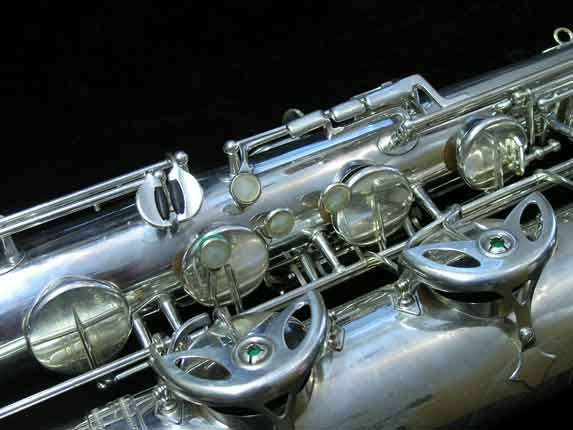 "Selmer Silver Plate Mark VI ""Low A"" Baritone - 138648 - Photo # 14"
