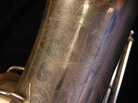 Buescher Matte Silver Plate True Tone Alto - 201428 - Photo # 13
