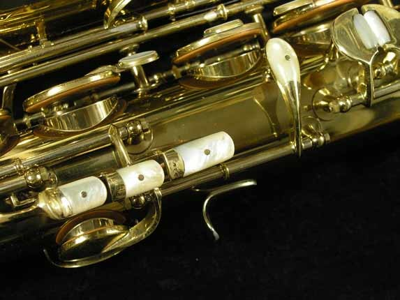 King Lacquer-Sterling Neck Super 20 Tenor - 313306 - Photo # 15