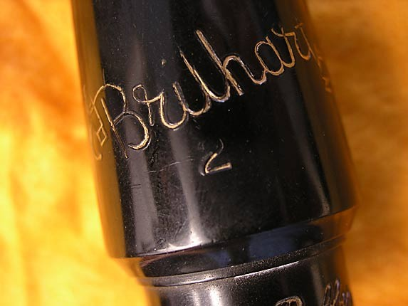 Brilhart Carlsbad Alto - Hard Rubber - 176929 - Photo # 5