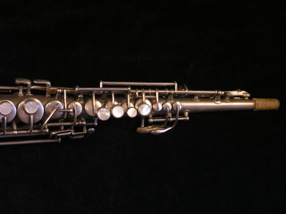 "Conn ""New Wonder"" Silver Plate C Soprano - 84475 - Photo # 4"