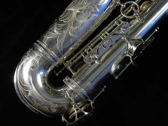 Selmer Silver Plate Mark VI Alto - 76835 - Photo # 5