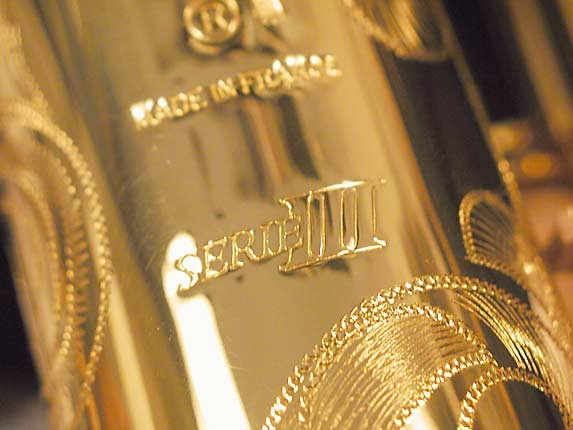 Selmer Gold Plate SA80 serie III Soprano - 637920 - Photo # 17