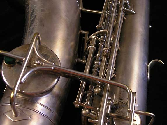 Buescher Matte Silver Plate True Tone Alto - 201428 - Photo # 14