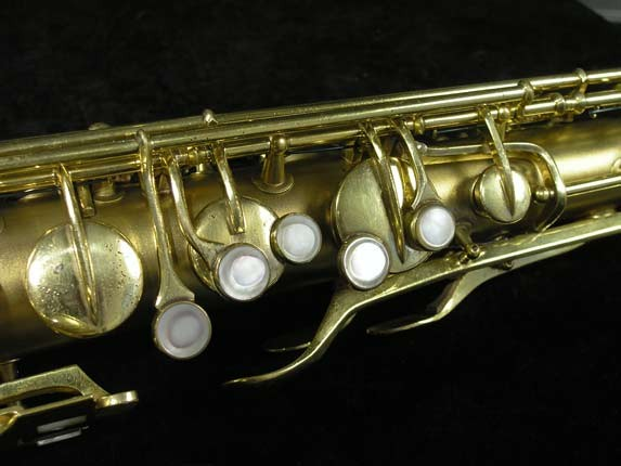Conn Gold Plate Art Deco Chu Berry Tenor - 239071 - Photo # 7