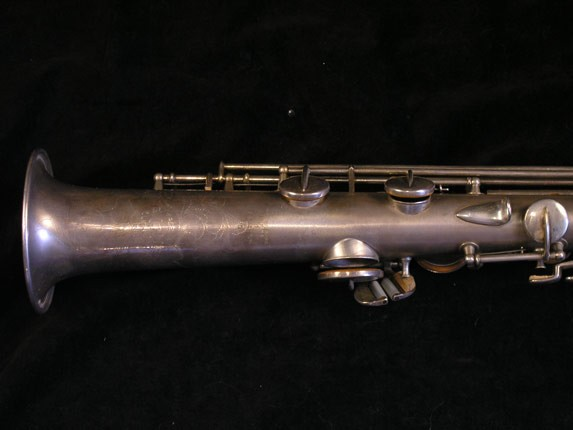"Conn ""New Wonder"" Silver Plate C Soprano - 84475 - Photo # 5"