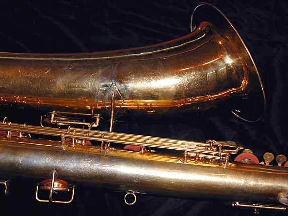 "Conn ""New Wonder"" Burnished Gold Plate Bass - 92312 - Photo # 9"