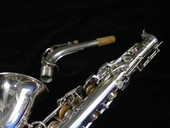 Selmer Silver Plate Mark VI Alto - 76835 - Photo # 6