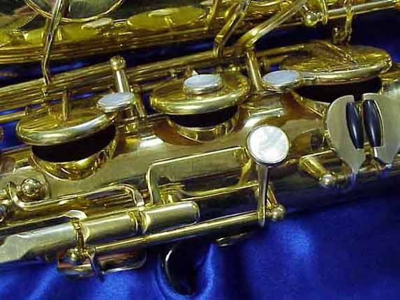 Selmer Gold Plate Mark VI Tenor - 164145 - Photo # 7