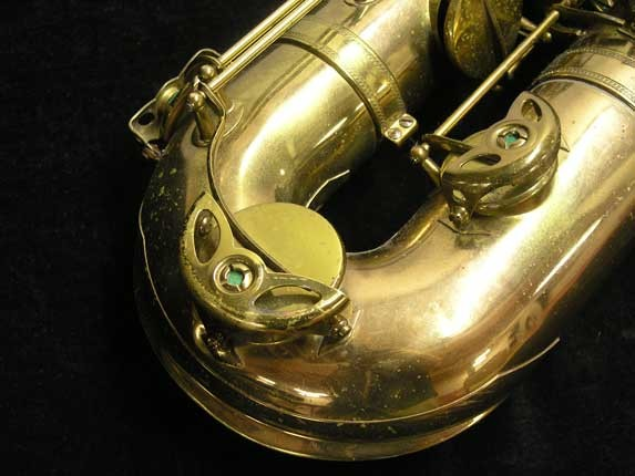 "Selmer Lacquer Mark VI ""Low A"" Baritone - 93188 - Photo # 19"