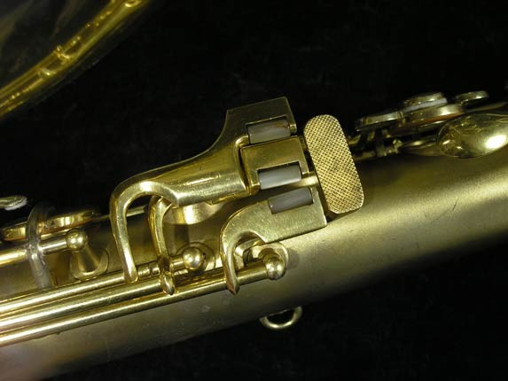 Conn Gold Plate Art Deco Chu Berry Tenor - 239071 - Photo # 8