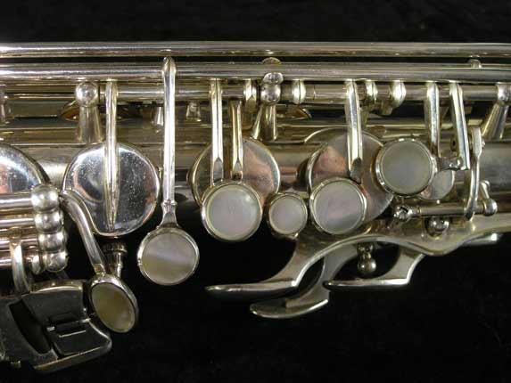 Selmer Silver Plate Mark VI Alto - 76835 - Photo # 7