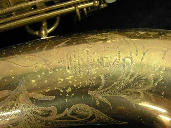 "Selmer Lacquer Mark VI ""Low A"" Baritone - 93188 - Photo # 20"