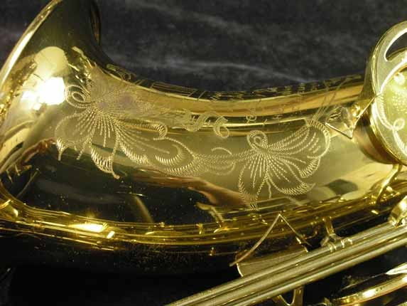 King Lacquer-Sterling Neck Super 20 Tenor - 313306 - Photo # 18