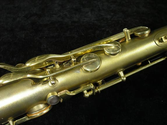 Conn Gold Plate Art Deco Chu Berry Tenor - 239071 - Photo # 9