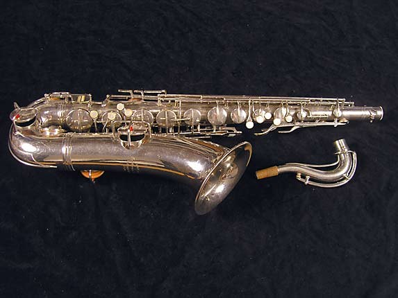 Conn Nickel Plate Chu Berry Tenor - 227703 - Photo # 1