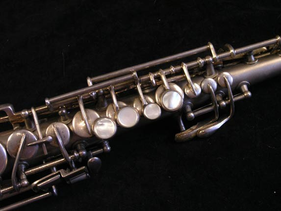 "Conn ""New Wonder"" Silver Plate C Soprano - 84475 - Photo # 7"