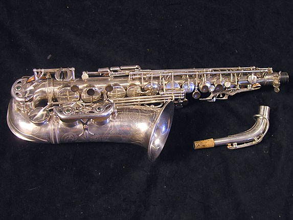 Selmer Silver Plate Balanced Action Alto - 32611 - Photo # 1