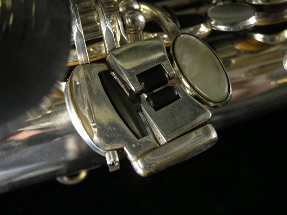 Selmer Silver Plate Mark VI Alto - 76835 - Photo # 8