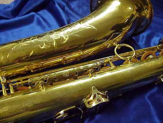 Selmer Gold Plate Mark VI Tenor - 164145 - Photo # 9