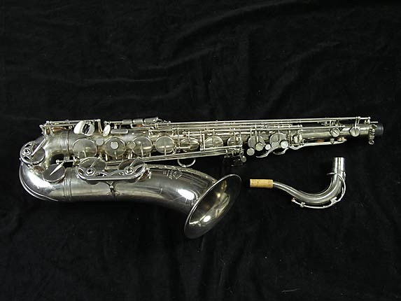 Selmer Nickel Plate Mark VII Tenor - 313016 - Photo # 1