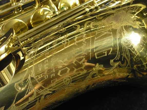 King Lacquer-Sterling Neck Super 20 Tenor - 313306 - Photo # 19