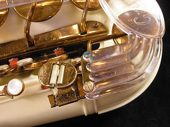 Grafton Acrylic Alto Sax - 12727 - Photo # 12