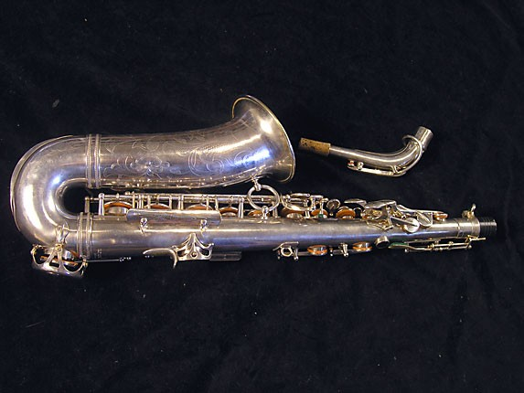 Selmer Silver Plate Balanced Action Alto - 32611 - Photo # 2