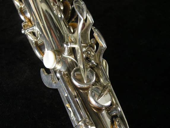 Selmer Silver Plate Mark VI Alto - 76835 - Photo # 9