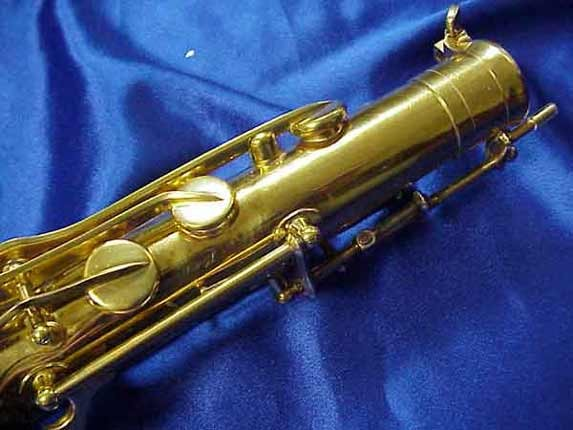 Selmer Gold Plate Mark VI Tenor - 164145 - Photo # 10
